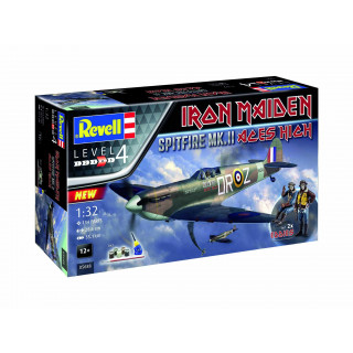 "Gift-Set letadlo 05688 - Spitfire Mk.II ""Aces High"" Iron Maiden (1:32)"