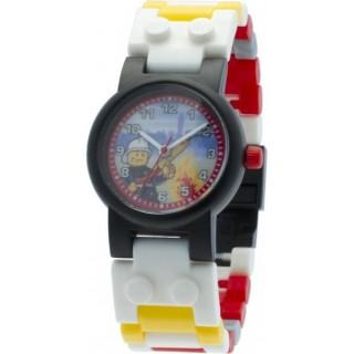 LEGO City hodinky Fireman sminifigurkou