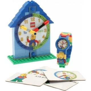 LEGO Time Teacher výuková stavebnice + modré hodinky