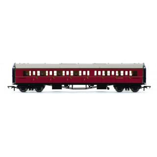 Vagón osobní HORNBY R4766 - BR Collett Coach Corridor Composite LH, Maroon