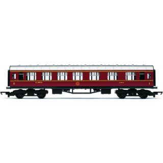 Vagón osobní HORNBY RAILROAD R4388 - LMS Composite Coach - LMS Maroon