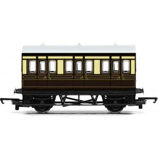 Vagón osobní HORNBY RAILROAD R4673 - GWR 4 Wheel Coach