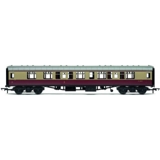 Vagón osobní HORNBY RAILROAD R4812 - BR Mk1 Corridor Composite Coach - BR Crimson & Cream