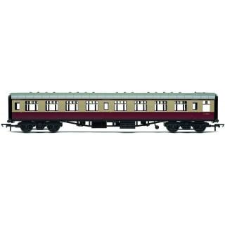 Vagón osobní HORNBY RAILROAD R4813 - BR Mk1 Corridor Second Coach - BR Crimson & Cream
