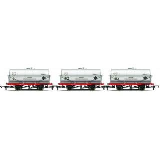 Set tří nákladních vagónů HORNBY R6788 - 20 Ton Tank Wagon, ICI
