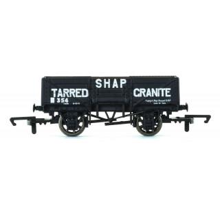 Vagón nákladní HORNBY R6750 - 5 Plank Wagon 'Shap Tarred Granite'