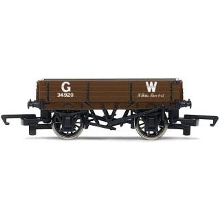 Vagón nákladní HORNBY R6806 - 3 Plank Wagon 'GW'