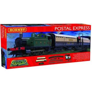 Modelová železnice analogová HORNBY R1180 - Postal Express Train Set