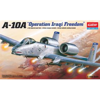 "Model Kit letadlo 12402 - A-10A ""OPERATION IRAQI FREECOM"" (1:72)"