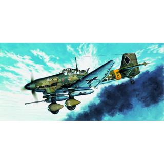 "Model Kit letadlo 12450 - JU-87G STUKA ""TANK BUSTER"" (1:72)"