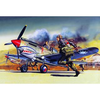 Model Kit letadlo 12456 - P-40B (1:72)