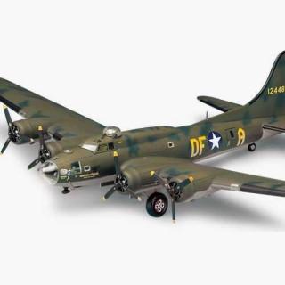 """Model Kit letadlo 12495 - B-17F """"MEMPHIS BELLE"""" (1:72)"""