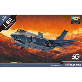 "Model Kit letadlo 12561 - F-35A ""Seven Nation Air Force"" MCP (1:72)"