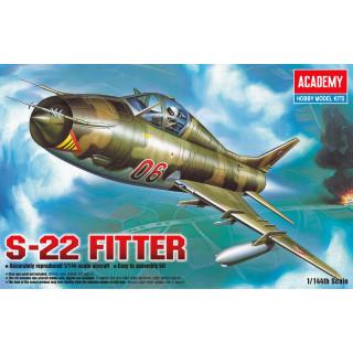 Model Kit letadlo 12612 - S-22 FITTER (1:144)