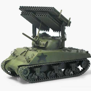 "Model Kit tank 13294 - M4A3 Sherman W/ T34 ""Calliope"" (1:35)"