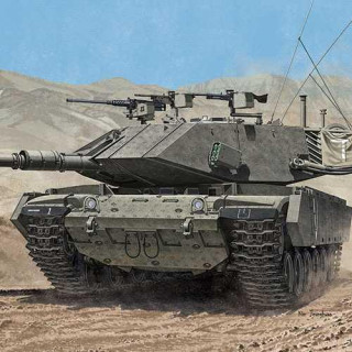 "Model Kit tank 13297 - MAGACH 7C ""GIMEL"" (1:35)"