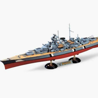 Model Kit loď 14109 - GERMAN BATTLESHIP BISMARCK (1:350)
