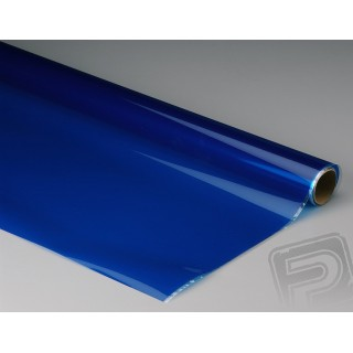 Monokote transparentní 182x65cm modrý