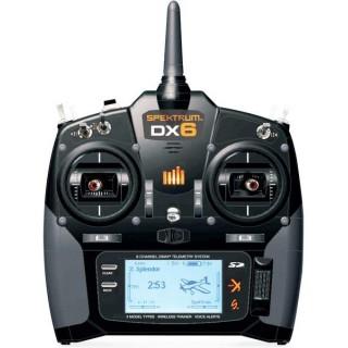 DX6 DSMX Spektrum pouze vysílač Mód 1-4