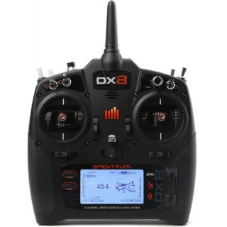 DX8 DSMX Spektrum pouze vysílač Mód (1-4)
