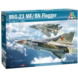Model Kit letadlo 2798 - MiG-23 MF/BN Flogger (1:48)