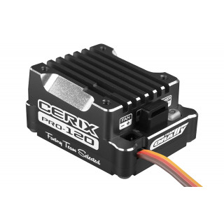 "Cerix PRO 120 ""Racing Factory"" - 2-3S regulátor - černý"