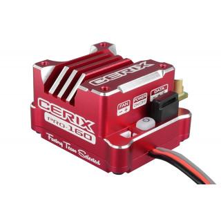 """Cerix PRO 160 """"Racing Factory"""" - 2-3S regulátor - červený"""