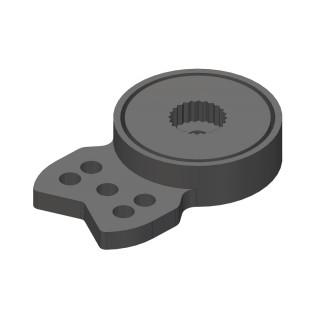 Servo Saver - kompositový plast
