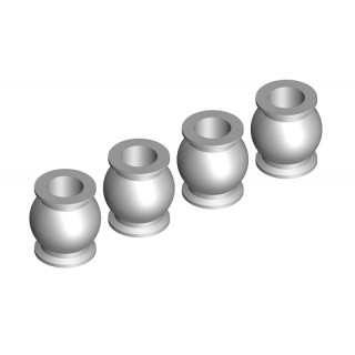 Ocelové kuličky 5,8mm, 4 ks.