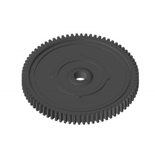 Hlavní ozubeneé kolo 56 zubů, modul 32DP - kompositový plast, 1 ks.