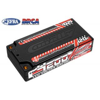 VOLTAX HiVOLT 120C LiPo LCG Shorty Hardcase-4200mAh-7.4V-G4 (31,1Wh)