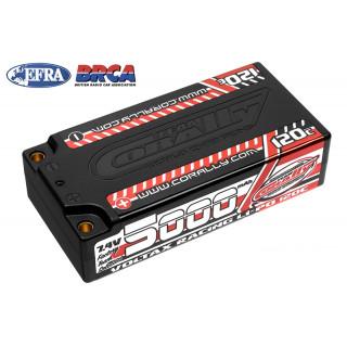 VOLTAX HiVOLT 120C LiPo LCG Shorty Hardcase-5000mAh-7.4V-G4 (37,0Wh)