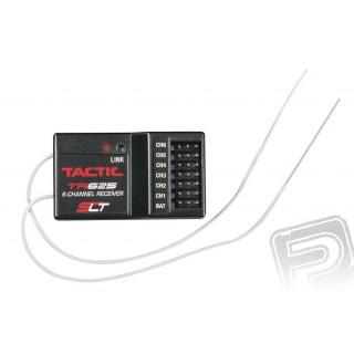 Tactic TR625 6-kan. přijímač 2.4GHz, 2 antény