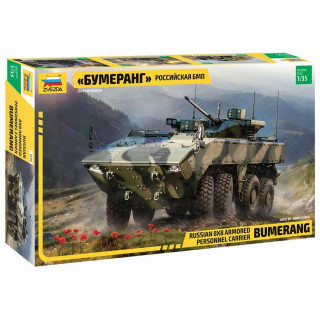 "Model Kit military 3696 - ""Bumerang"" Russian APC (1:35)"