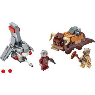 LEGO Star Wars - Mikrostíhačka T-16 Skyhopper vs. Bantha