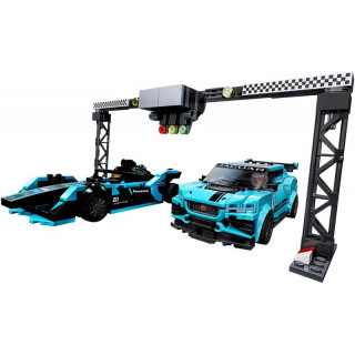 LEGO Speed Champions - Formula E Panasonic Jaguar Racing GEN2 car & Jaguar I-PACE eTROPHY
