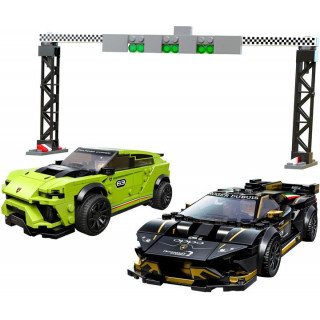 LEGO Speed Champions - Lamborghini Urus ST-X & Lamborghini Huracán Super Trofeo EVO