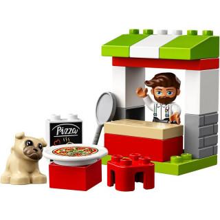 LEGO DUPLO - Stánek s pizzou