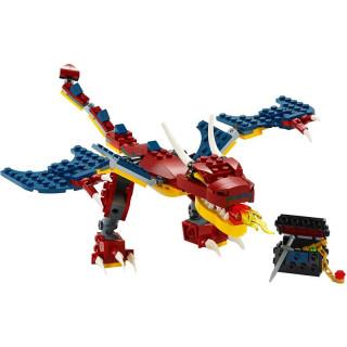 LEGO Creator - Ohnivý drak