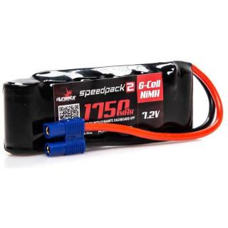 Dynamite NiMH Speedpack2 7.2V 1750mAH 6C EC3
