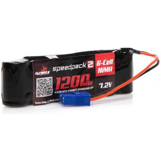 Dynamite NiMH Speedpack2 7.2V 1200mAH 6C EC3