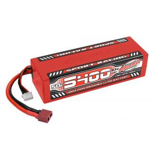 Sport Racing 50C LiPo Stick Hardcase-5400mAh-11.1V-T-DYN (60,0Wh)