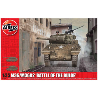"Classic Kit tank A1366 - M36/M36B2 ""Battle of the Bulge"" (1:35)"