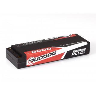 RUDDOG 6000mAh 100C 7,6V LiHV GRAPHENE Plus LCG Stick sada