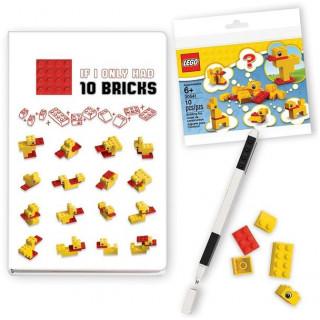 LEGO zápisník Stationery Classic Kachny