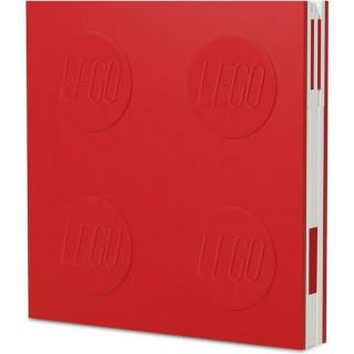 LEGO 2.0 zápisník s gelovým perem červený