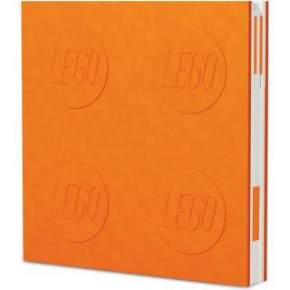 LEGO 2.0 zápisník s gelovým perem oranžový