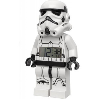 LEGO hodiny s budíkem Star Wars Stormtrooper