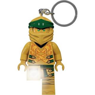 LEGO svítící klíčenka - Ninjago Legacy Zlatý Ninja