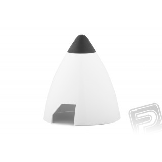 Plastový kužel 40mm bílý